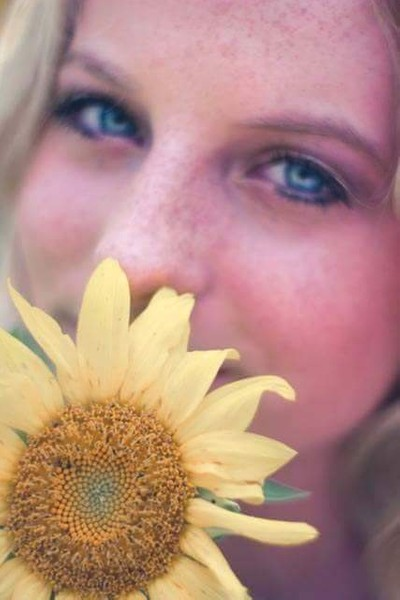 Sunflowers and Freckles