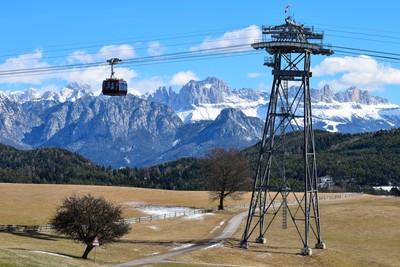 Catinaccio - Rosengarten mountain, Dolomites, Italy