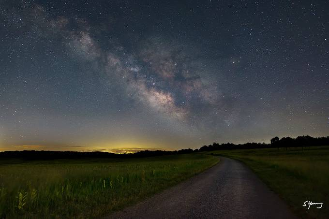 Big Meadows Fire Road, Shenandoah National Park by syoung_va - Capture The Milky Way Photo Contest