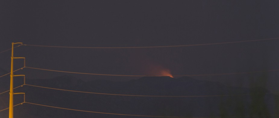 This is one of the larger fires a bit NE of Tucson as it was on July 5th.