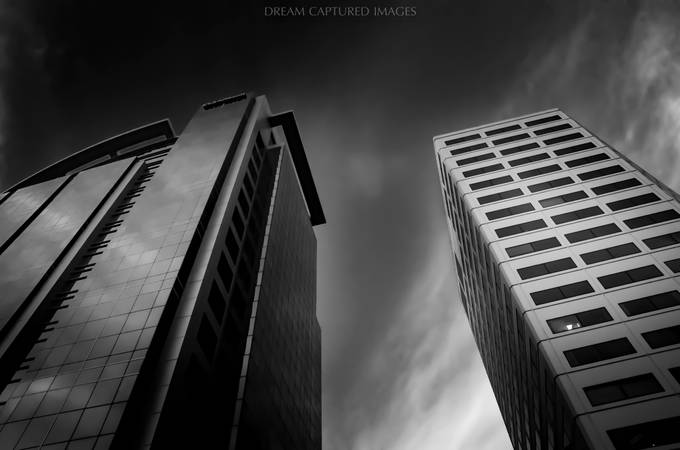 Towering Towers by DreamCapturedImages - Opposites Photo Contest