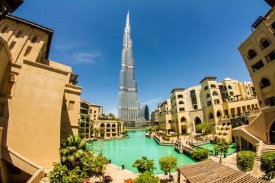 Burj Khalifa on a sunny day