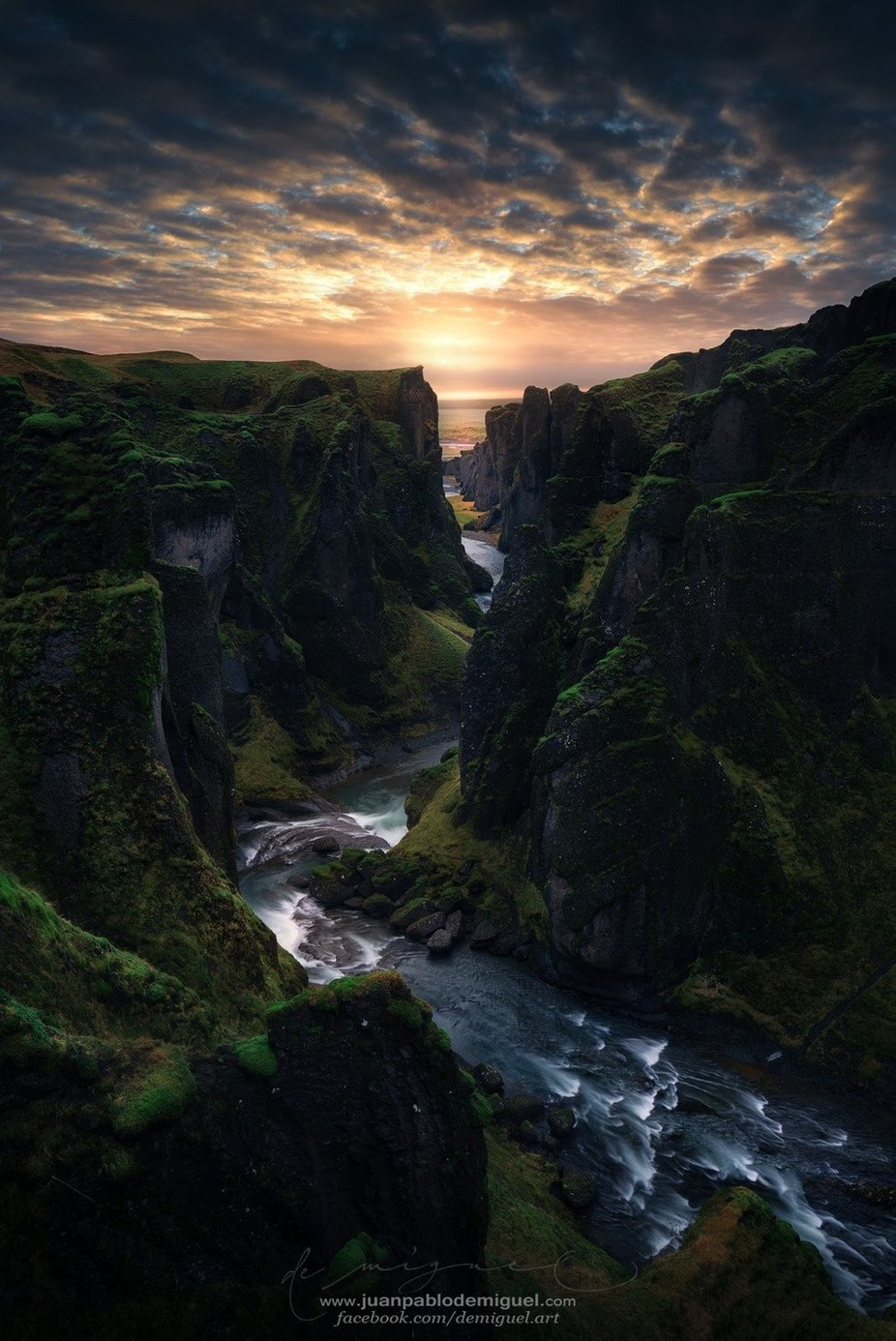Light Canyon. by JuanPablo-deMiguel - Streams In Nature Photo Contest