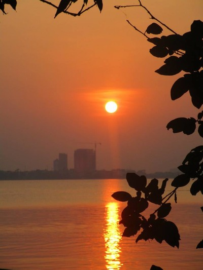 Sunset, Tran Quoc Pagoda,
