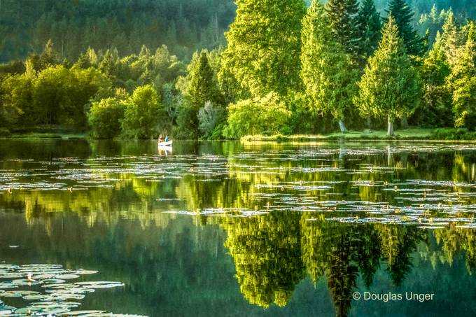 Relaxing On The Lake by douglasunger - Bright Colors In Nature Photo Contest