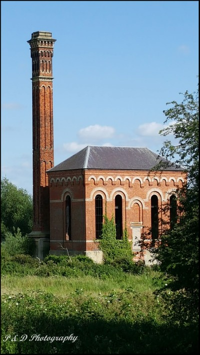"""Pump House Circa 1850 in Worksop, Nottinghamshire """"Listed Building"""""""