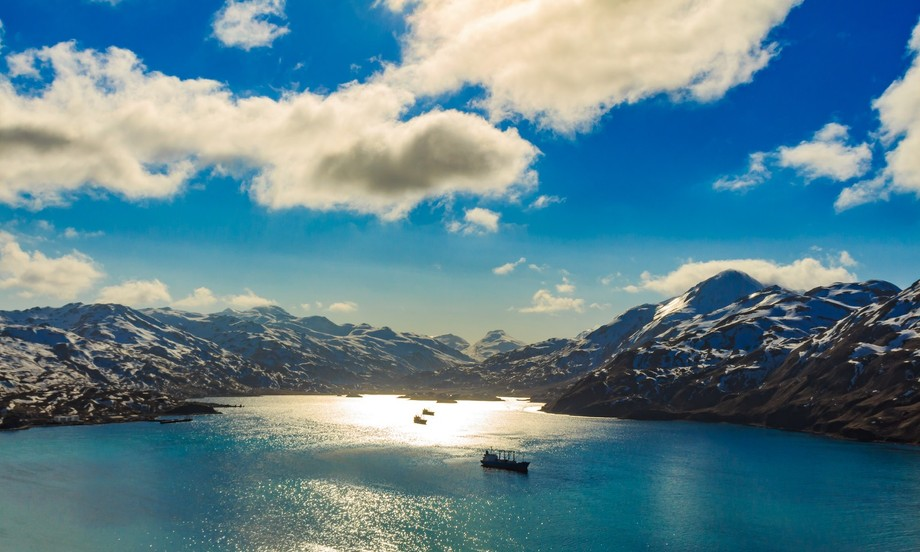 Captain's Bay in Dutch Harbor Alaska