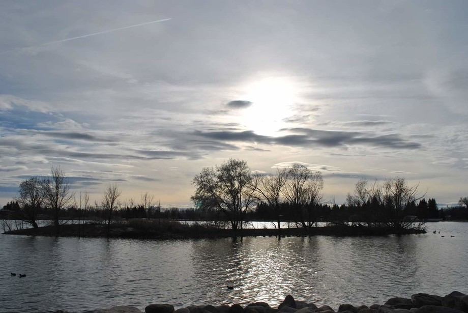 Sunset at Henderson park