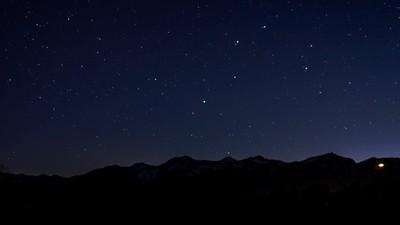 Teton Evening