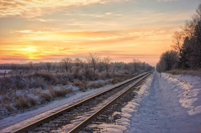Polar Express by Troy-Hess - Empty Railways Photo Contest