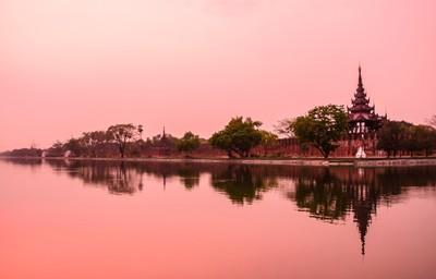 Sunset Mandalay