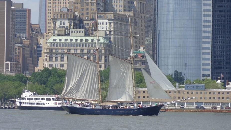 Schooner in NYC