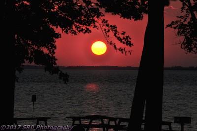 James River Sunset