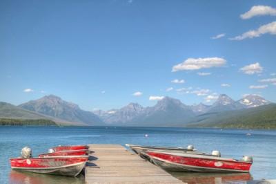 Summer on Lake McDonald