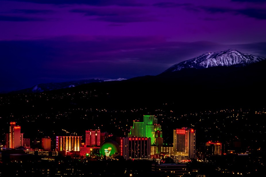 I Love this place...the casino's of Reno, Nevada and the slopes of Mount Rose Ski Resort.