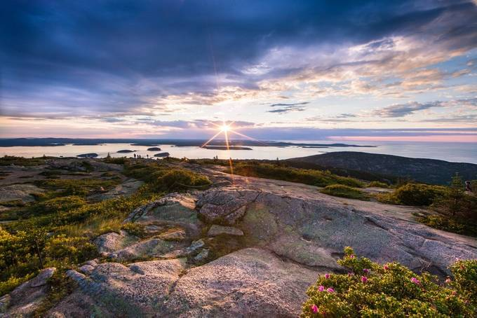 Sunrise over Cadillac Mountain by Cherylgayserphotography - The First Light Photo Contest