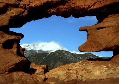 Garden of the Gods Window to the Rockies