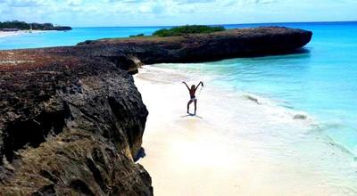Solo on the Private Beach