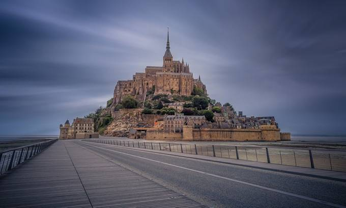 Mont Saint Michel - France  by Alexlud