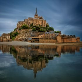 Mont Saint Michel - Reflections