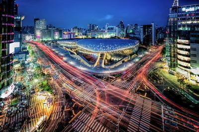 Seoul's Vibrant Night