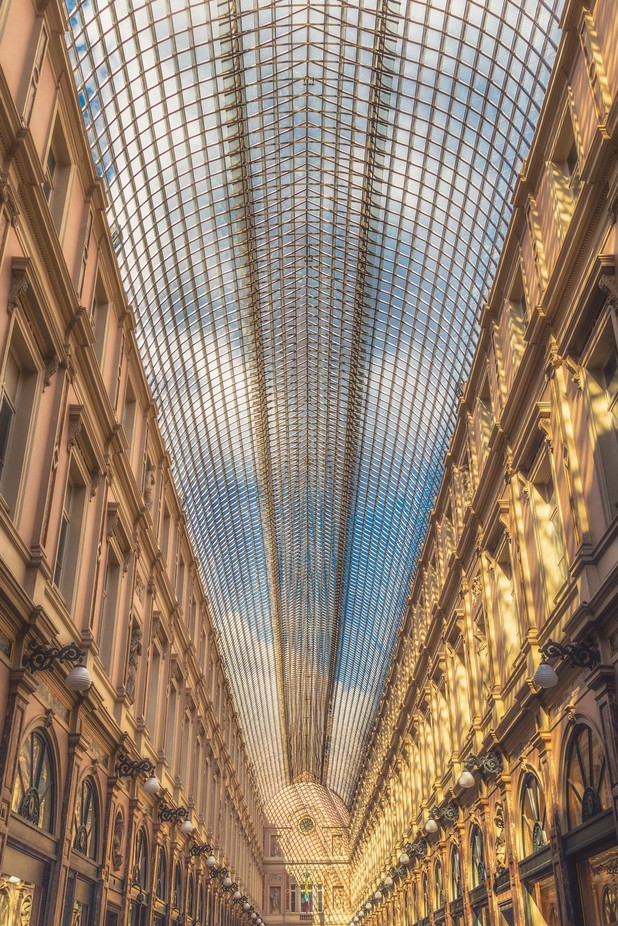Le Galeries Royales Saint-Hubert by CPF_Photography - High Ceilings Photo Contest