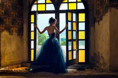 Fairytale Photography in a Palace