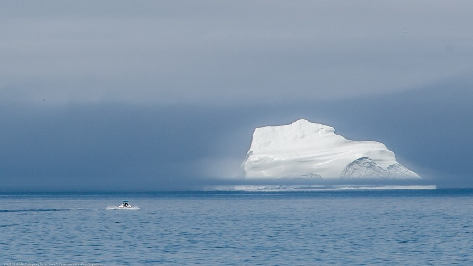 Summer Time in Newfoundland & Labrador Canada, means thousands of Icebergs come down from...