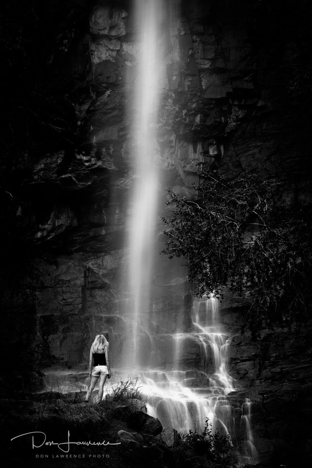 Soul Searching by DonLawrence - People And Waterfalls Photo Contest