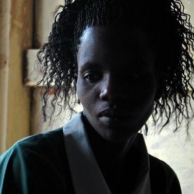 Nurse at the Agule Community Health Center