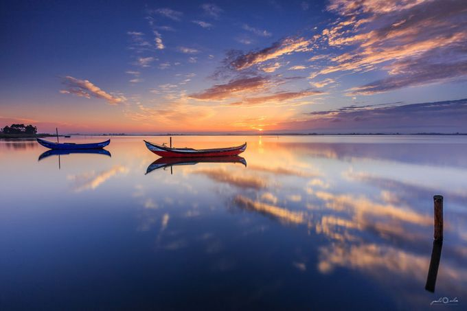 Ria de Aveiro - Nascer do sol by pauloprinter - Covers Photo Contest Vol 40
