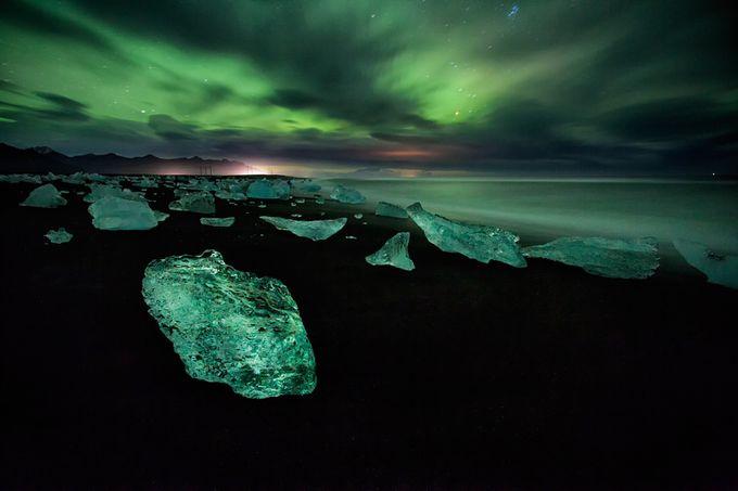 Green crystals by petersvoboda - Semitransparent Photo Contest