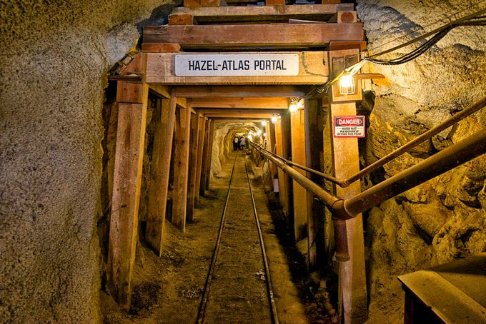 Black Diamond Mine by rhmimages - Shooting Tunnels Photo Contest