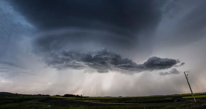 Saskatchewan Storm by francislavignetheriault - Rain Photo Contest