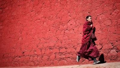 Tea Time in Tibet