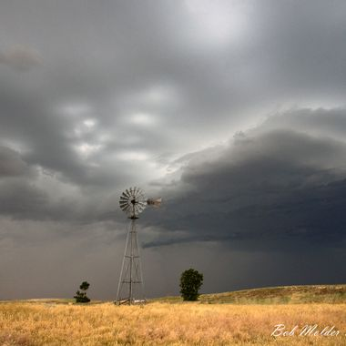 Storm and Windmill