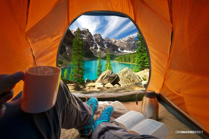 Room with a View by crismagsino - Outdoor Camping Photo Contest