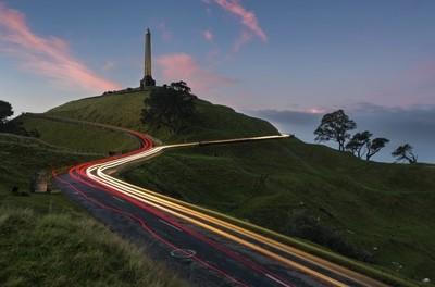 One Tree Hill Light Trail