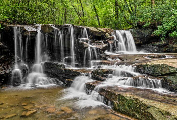 Upper Jonathan Run Falls by KennethKeifer - Beautiful Waterfalls Photo Contest