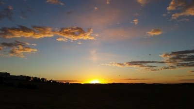 Sunrise at the Imperial Sand Dunes at Glamis
