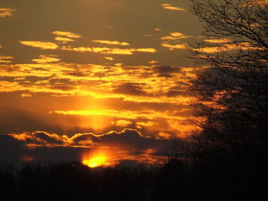 taken at the start of sunset