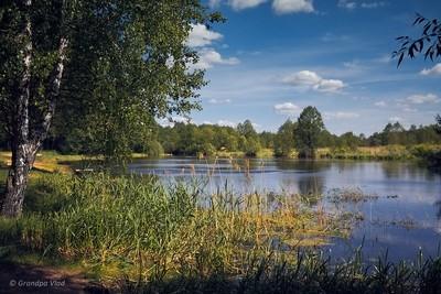 a quiet river...