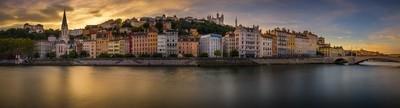Sunset on Lyon ...