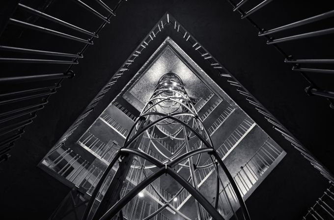 B&W12 copia by Merakiphotographer - High Ceilings Photo Contest