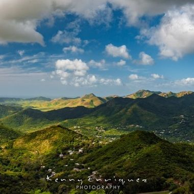 "Panoramic ""Amongst the sky"" Cayey, Puerto Rico"