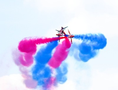 red arrows mix