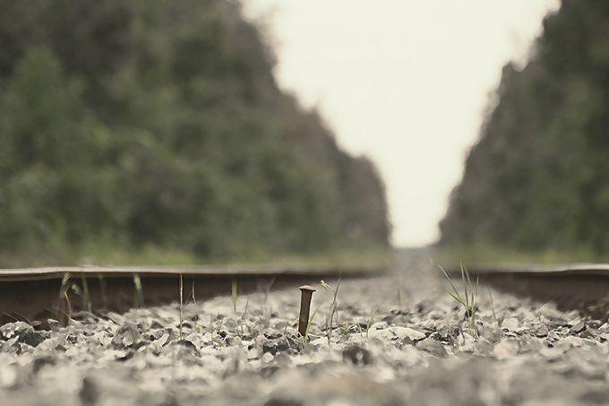 Main trunk line by stevenhuf - Empty Railways Photo Contest