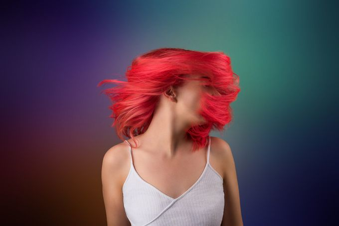 Crazy hair flick!  by DeanneWardPhotography - Monthly Pro Vol 33 Photo Contest
