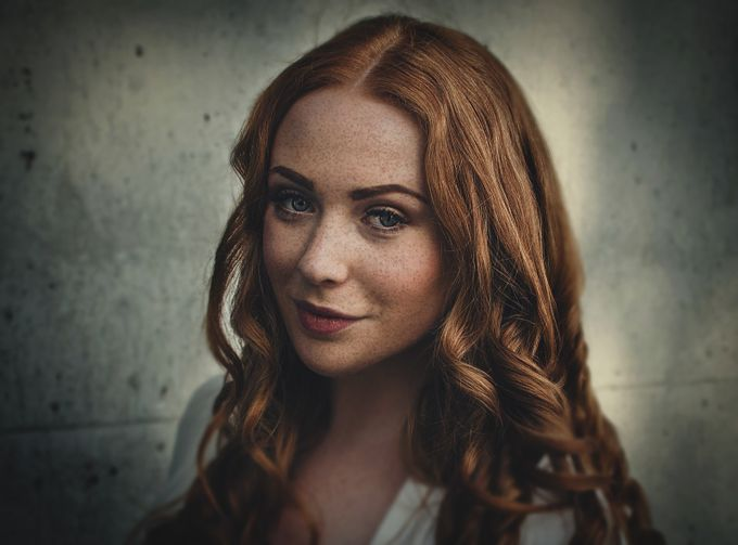 Redhead by ilyayakover - Faces With Freckles Photo Contest