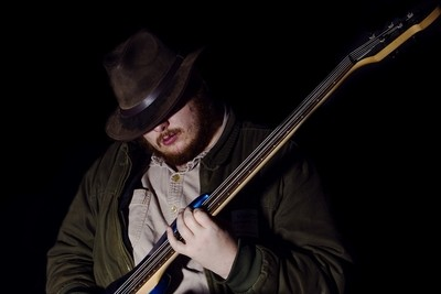 Morgan Playing the Bass